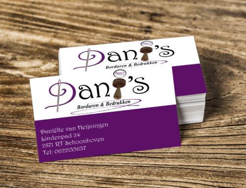 Visitekaartjes Dani's