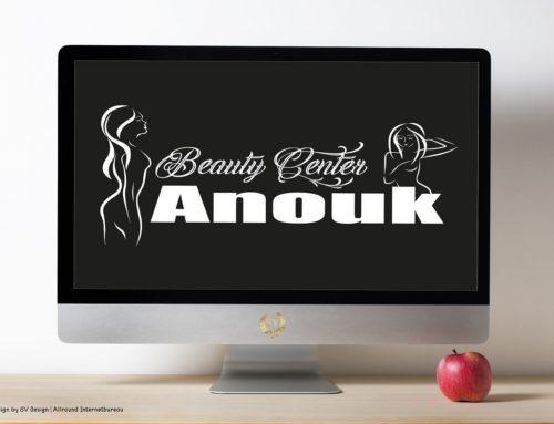 Logo design voor Beauty Center Anouk