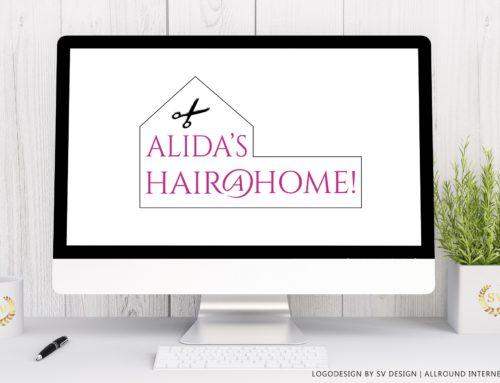 Logo ALIDA'S HAIR@HOME!