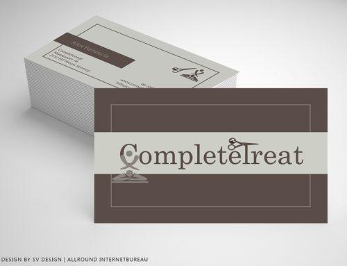 Visitekaartjes voor CompleteTreat