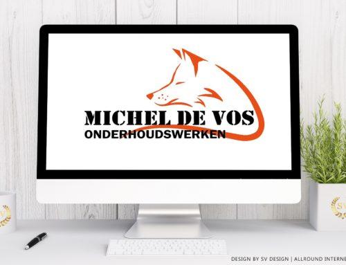 Logo design Michel de Vos Onderhoudswerken