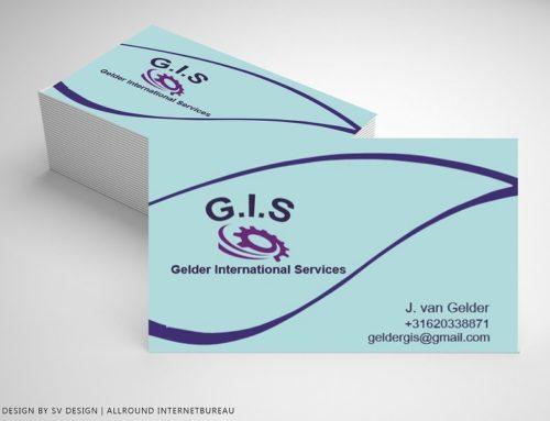 Visitekaartjes voor Gelder International Services
