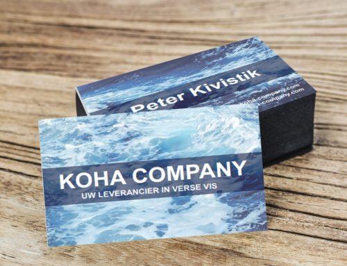 Visitekaartjes voor KOHA COMPANY